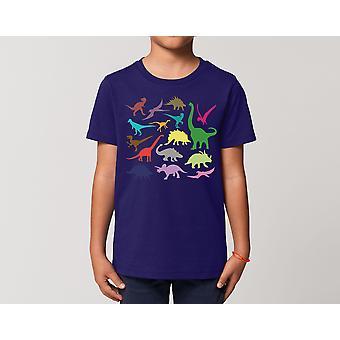 Reality glitch kids just dinosaurs t-shirt