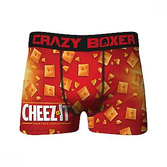 Crazy Boxers Cheez-It All Over Boxer Briefs