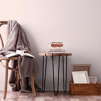 Elle Decoration Plain Textured Wallpaper Light Blush Pink 1017125