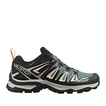 Salomon Womens X Ult3 GTX W Waterproof Walking Shoes Lace Up Casual Hiking