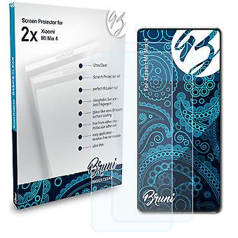 Bruni 2x Screen Protector compatible with Xiaomi MI Mix 4 Protective Film