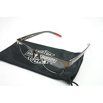 Harley Davidson Eyeglasses Carbon Fiber Brown HD480 BRN 53-18-145