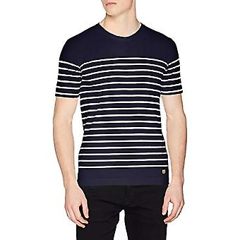 Armor Lux Marini king ?TEL Heritage Homme T-Shirt, Multicolored (600 Navire/Blanc 600), Small Man