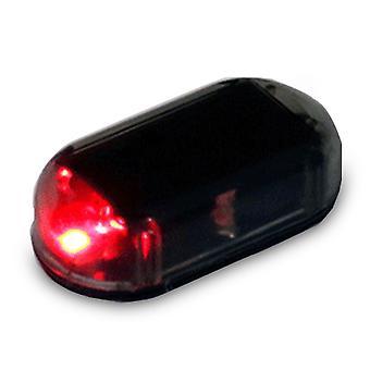 Toda a lâmpada de alarme do carro usb aviso sem fio antirroubo luz