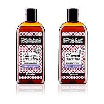 Duplo Epigenetic Shampoo for Sensitive Skin 2 units of 250ml