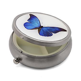 Pillendoos met vlinderprint - 50.28