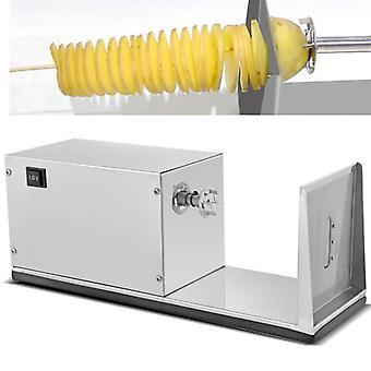 Elektrisk potatistornsmaskin, halvautomatisk, Spin rostfritt stål, kommersiell