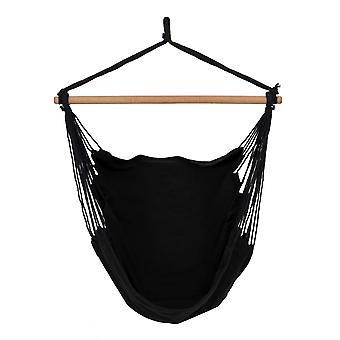Silla colgante estilo brasileño - negro - hasta 150 kg