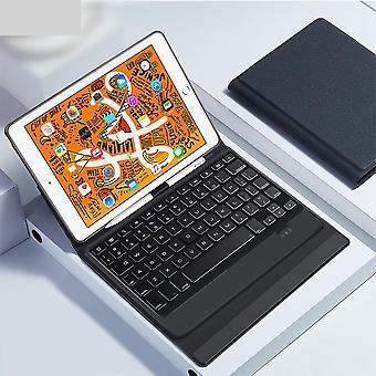 Bluetooth Беспроводная клавиатура Дело, Smart Pu Кожа Полный Фолио Flip Обложка