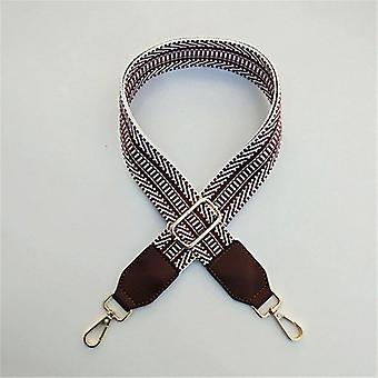 Belt Bags Strap Accessories, Rainbow Adjustable Shoulder Hanger, Handbag