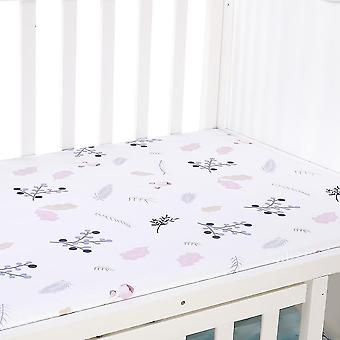 new c baby mattress cover crib fitted bed sheet sm17964