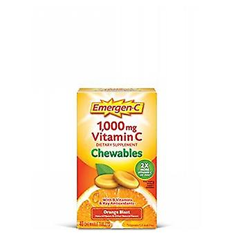 Emergen-C Emer'gen-C Immune Chewables, Orange 14 Tabs