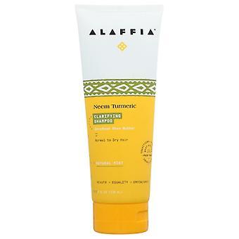 Alaffia Neem Balancing Turmeric Shampoo, 8 Oz