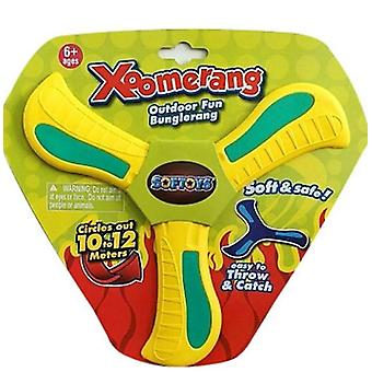 Returning Boomerang,soft Boomerang For Athletes, For Sports Game Toy To Beginners(YELLOW)