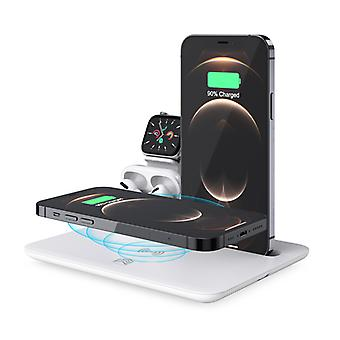 Mobile Phone Wireless Charging Base (including Qc3.0 Fast Charging Head) Es