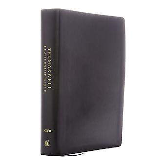 NIV Maxwell Leadership Bible 3rd Edition Premium Bonded Leather Burgundy Comfort Print  Holy Bible New International Version by General editor John C Maxwell
