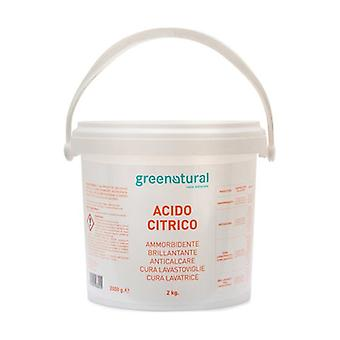 Citric acid 2 kg of powder