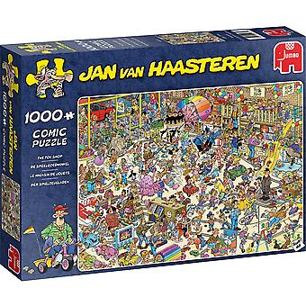 Jumbo Jan van Haasteren The Toy Shop Jigsaw - 1000 Piece