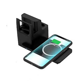 Zikko Zw8037 Wireless Intelligent Fast Charging Station 3in1 Support For Iphone Iwatch 11 Pro