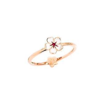 Dodo dab9002floweebi9r50 anillo de oro 9ct
