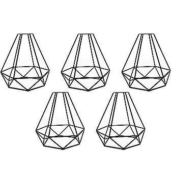 Железная крышка лампы, фар-люстра абажур, алмазный абажур для птиц