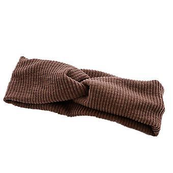 3PCS Mujeres de moda Trenzado Knotted Headwrap Deportes Diademas elásticas Niñas Suave Hairband Cabello