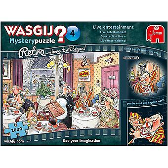 Wasgij Retro Mystery 4 Live Entertainment! 1000 Piece Puzzle