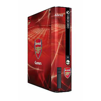 Arsenal FC Xbox 360 E GO Console Skin Official Licensed Product