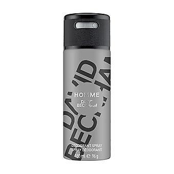 David beckham homme deodorant spray 150ml