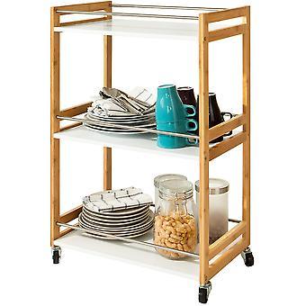 SoBuy 3 Stufen Küche, Trolley Cart, FKW32-WN