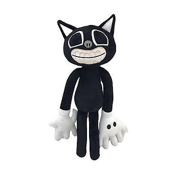 Black Cat Figures Plush Toy Siren Head Stuffed Doll Horror Character