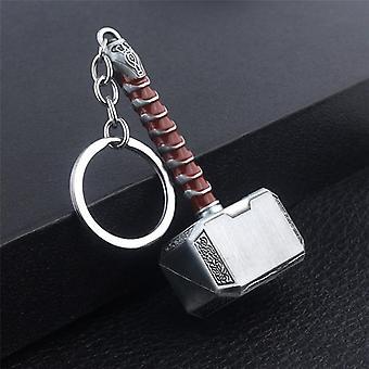 2021 Nya Thor Hammer Metal Nyckelring .
