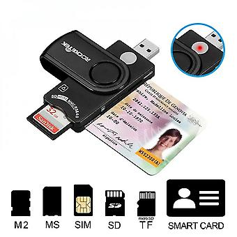 Smart Card Reader Ms M2 Sim Phone Card Sd Tf Mobile Phone Memory Card Multi-in-one Card Reader