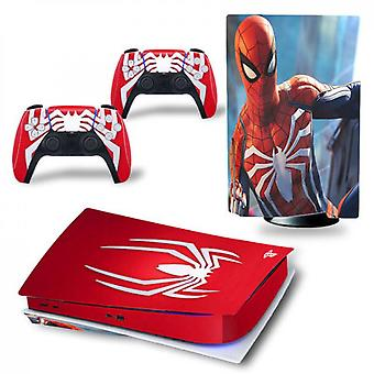 Ps5 Disk Edition Console And Controllers Skin Sticker
