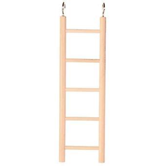 Trixie Leiter, Aus Holz, 5 Stufen, (Vögel , Käfigzubehör , Sitzstangen und Schaukeln)
