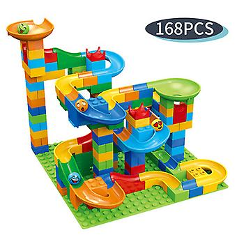 168pcs Building Blocks With Ball Track