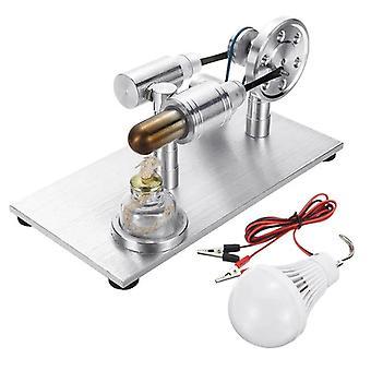 Moteur Modèle de combustion externe avec jouet de développement d'ampoule