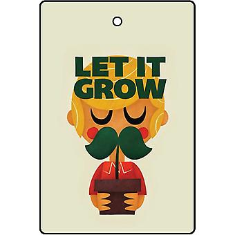 Let It Grow Car Air Freshener
