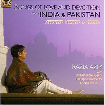Importación de Razia Aziz - canciones de amor y devoción de la India y Estados Unidos [CD]