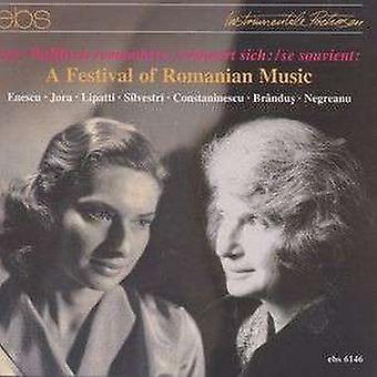 Enescu / Jora / Lipatti / Silvestri / Wallfisch - Festival of Romanian Music [CD] USA import