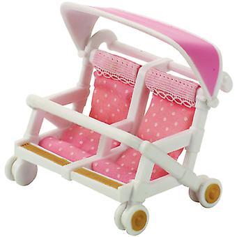 Produkty Sylvanian Families podwójny wózek