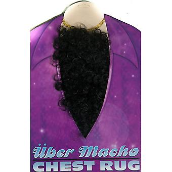Skæg og overskæg brystet hår