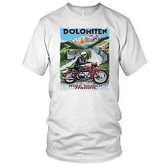 Italienska Classic Bike Retro affisch Mens T Shirt
