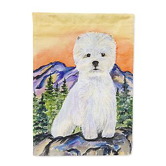 Carolines Treasures  SS8159-FLAG-PARENT Westie Flag