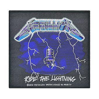 Metallica Ride The Lightning Woven Patch