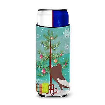 English Pouter Pigeon Christmas Michelob Ultra Hugger for slim cans