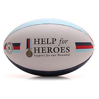 Gilbert Help For Heroes Supporters Size 5 Rugby Ball
