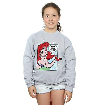 Disney Princess flickor Ariel popkonst Sweatshirt