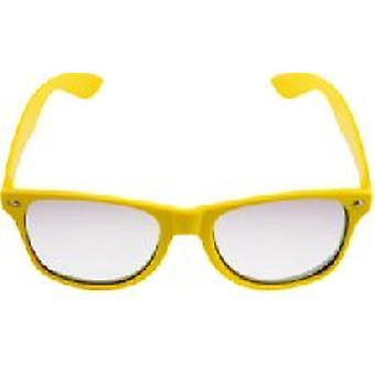 Yellow Neon Effacer Lense Wayfarer Lunettes