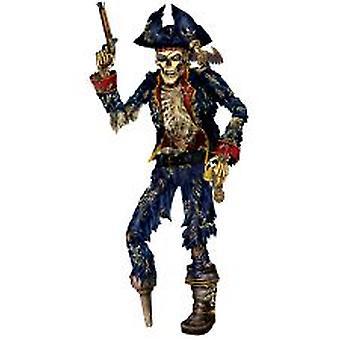 Pirate squelette articulé découpe